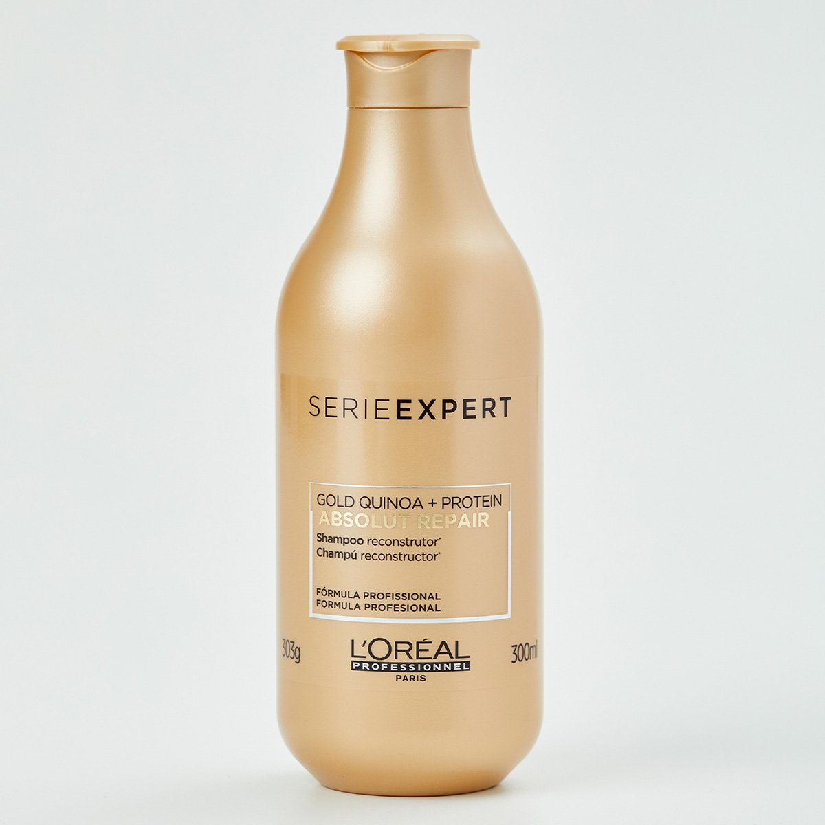 Shampoo L'oréal Professionnel Absolut Repair Gold Quinoa + Protein - 300ML