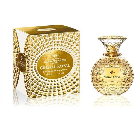 489ac6a34 Perfume Cristal Royal Feminino Marina de Bourbon EDP 50ml - Compre ...