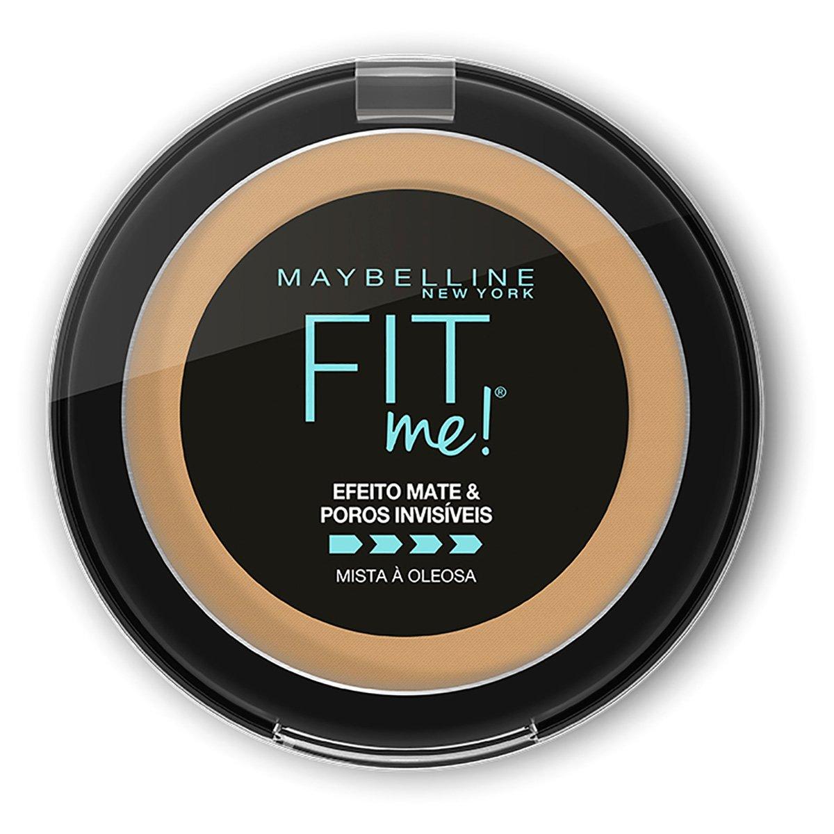 Pó compacto Maybelline Fit Me B07 Médio Escuro Bege