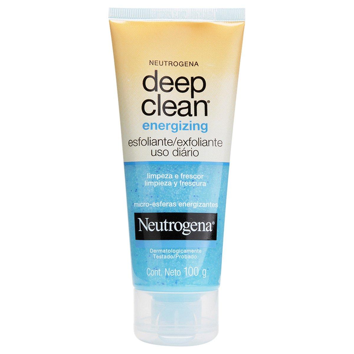Esfoliante Facial Neutrogena Deep Clean Energizing 100g