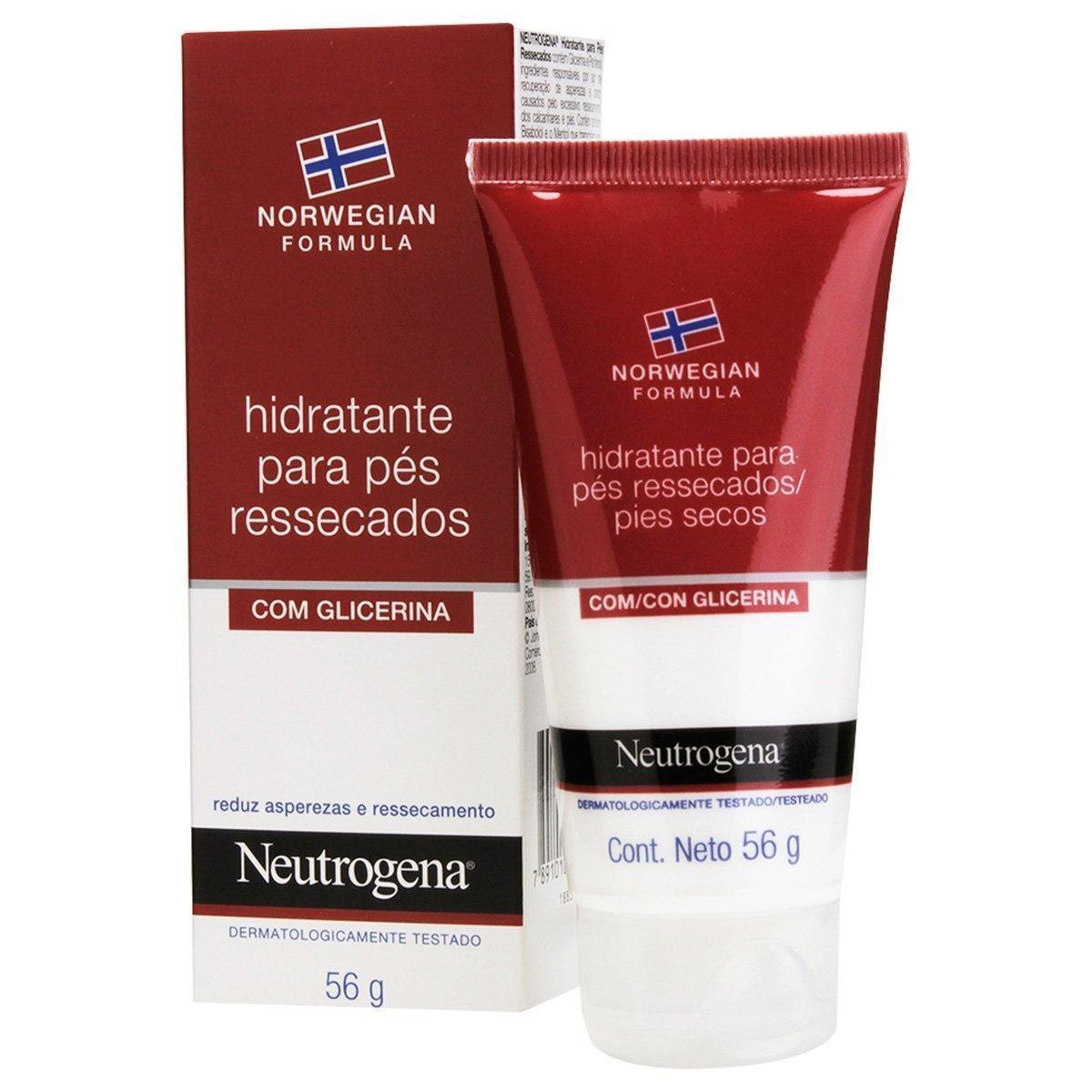 Creme Hidratante para os Pés Neutrogena Norwegian 56g