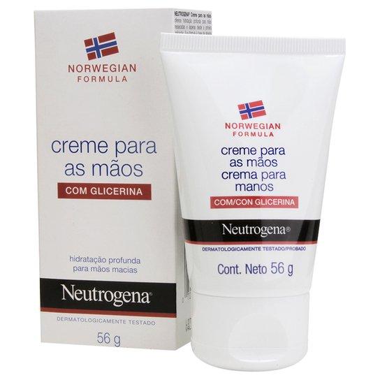 1e22358450 Creme Hidratante para Mãos Neutrogena Norwegian 56g - Incolor