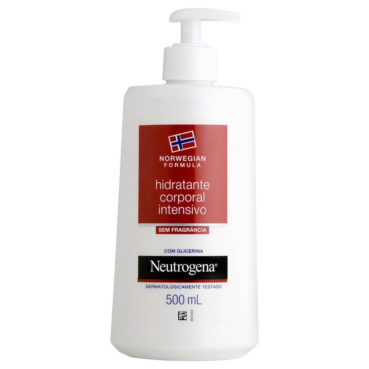 Creme Hidratante Neutrogena Norwegian sem Fragrância 500ml
