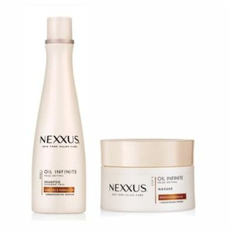 f3862fa2d7dd9 Kit Shampoo E Máscara Nexxus Oil Infinite Frizz Defying