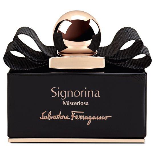 b12c0a8ba7315 Perfume Signorina Misteriosa Feminino Salvatore Ferragamo EDP 50ml - Incolor