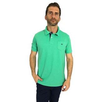 b9c3423a4 Camisa Polo Mister Fish Slim Com Bolso Masculina