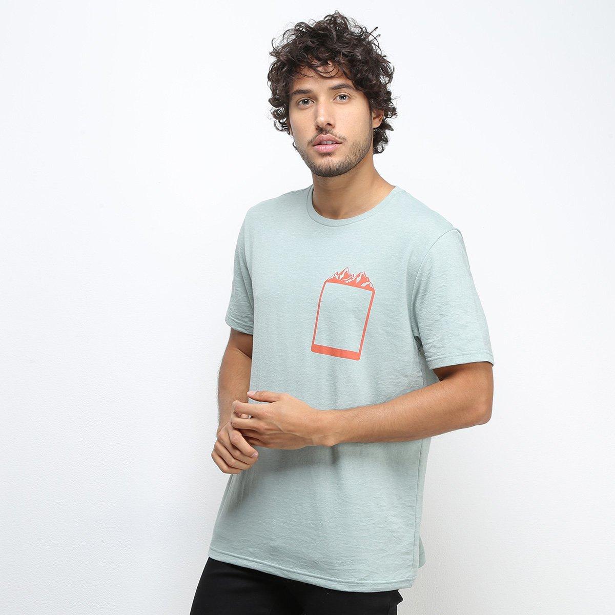 Camiseta Treebo Moutain Pocket Masculina