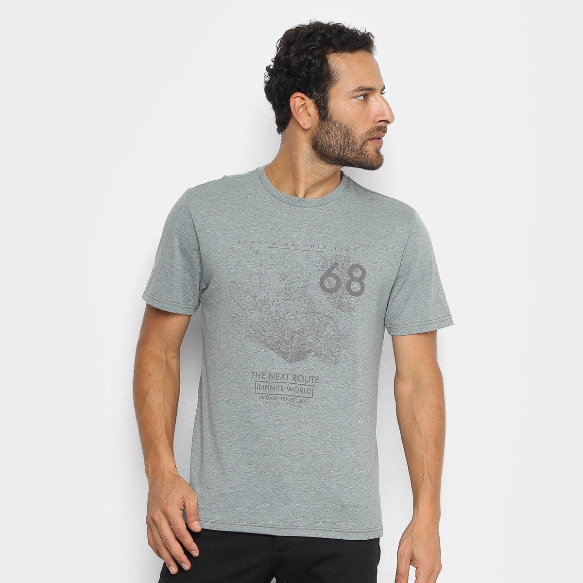 Camiseta Treebo The Next Route Masculina