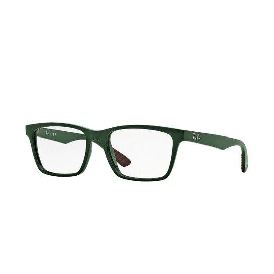071471f5e Armação de Óculos Ray-Ban Masculino - Verde | Zattini