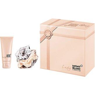 ec15e0b331 Montblanc Kit Perfume Feminino Lady Emblem EDP 50ml + Body Lotion 100ml
