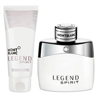 2bfd02582 Kit Perfume Masculino Montblanc Legend Spirit Eau de Toilette 50ml + Loção  Pós Banho 100ml