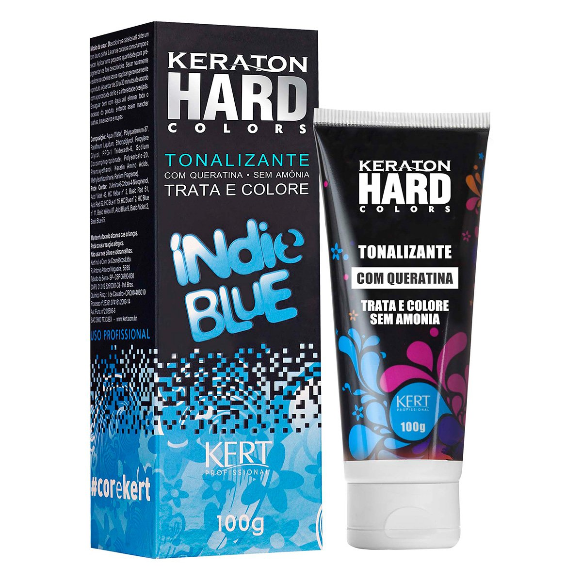 Keraton Hard Color Indie Blue 100g