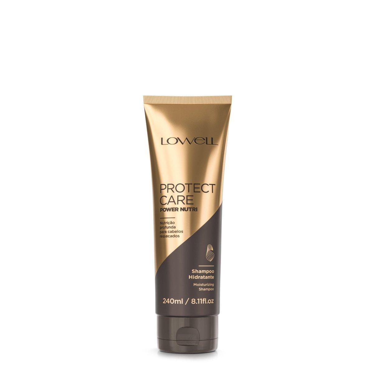 Shampoo Power Nutri Protect Care Lowell 240ml