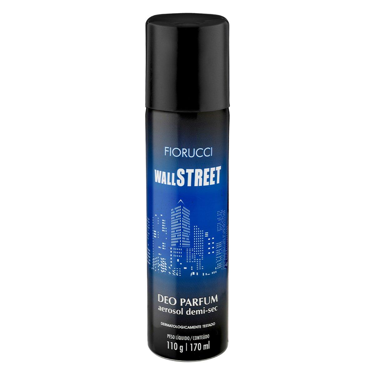 Desodorante Aerosol Fiorucci Wall Street - 170ml