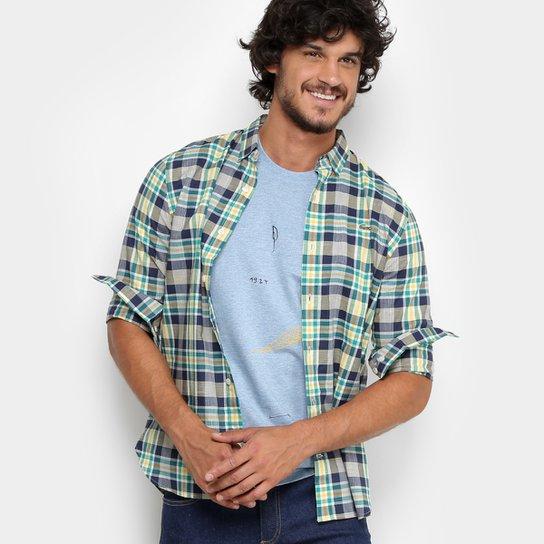 Camisa Xadrez Lacoste Live ML Skinny Fit Masculina - Compre Agora ... 0c64b80672