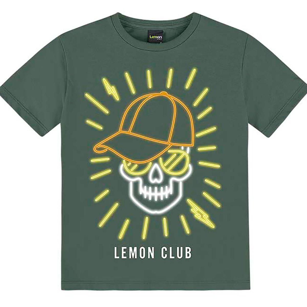 Camiseta Juvenil Lemon Club Masculina