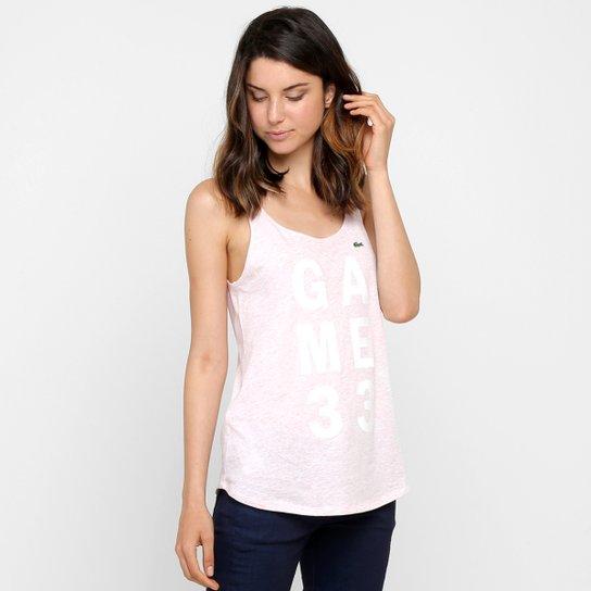 835bee6b1f8 Camiseta Regata Lacoste - Compre Agora