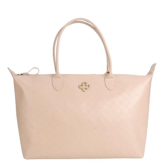 549ecac0e Bolsa Capodarte Shopper Monograma Feminina - Rosa Claro | Zattini