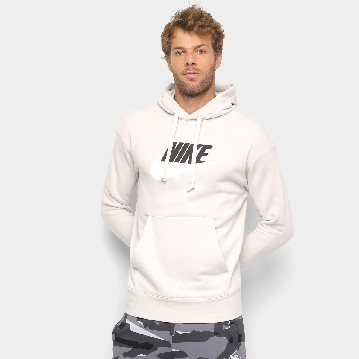 Moletom Nike Heritage Hoodie com Capuz Masculino