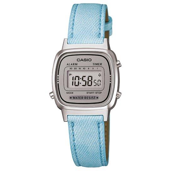 ca4fb82a402 Relógio Casio Digital LA670WL-2ADF Feminino - Compre Agora
