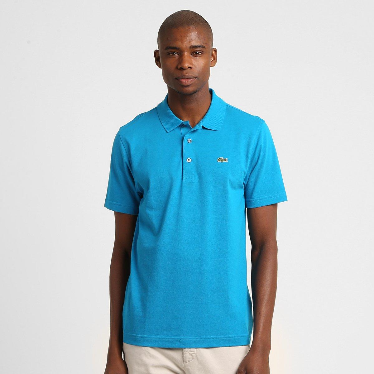 8ba1c5f1dc0 ... Camisa Polo Lacoste Super Light Masculina