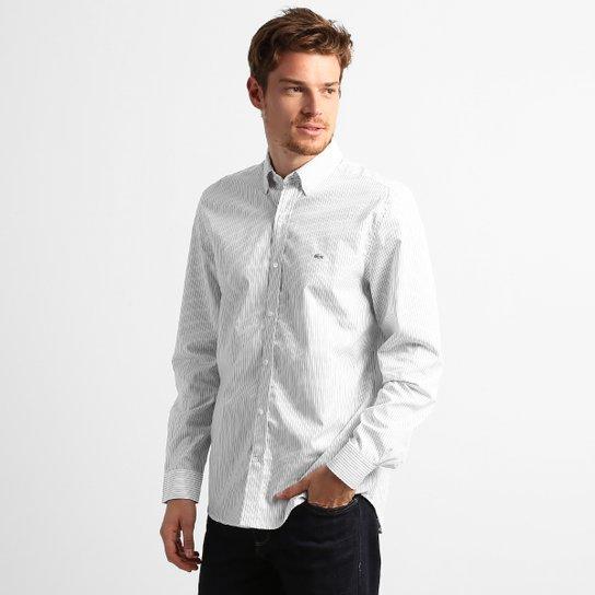 fb8aeb2c68ab2 Camisa Lacoste Listrada Classic Fit - Compre Agora