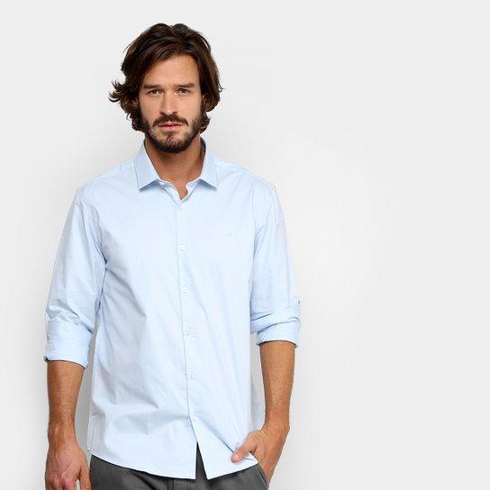 Camisa Social Calvin Klein Regular Fit Masculina - Compre Agora ... 0bd0381010