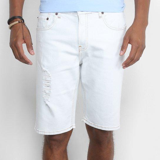 970759b7f66b7 Bermuda Jeans Calvin Klein Delavê Rasgos Masculina - Compre Agora ...