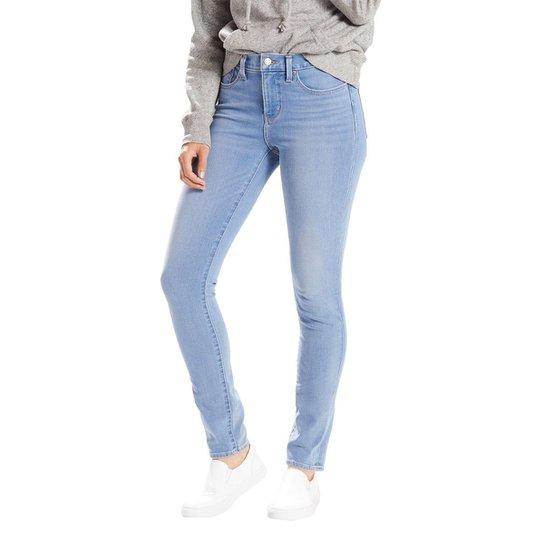 Calça Jeans Levis 311 Shaping Skinny 4 Way Stretch Clara Feminina - Azul  Claro 425b977dd93