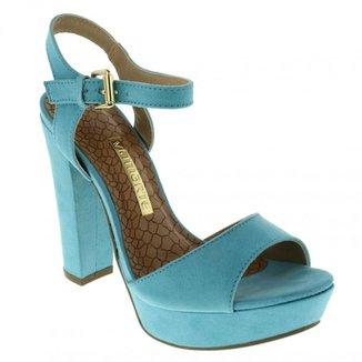a18d565840 Sandálias Azul Claro Tamanho 35