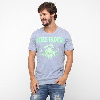 a1fa254e2 Camiseta Colcci Free Rider Neon