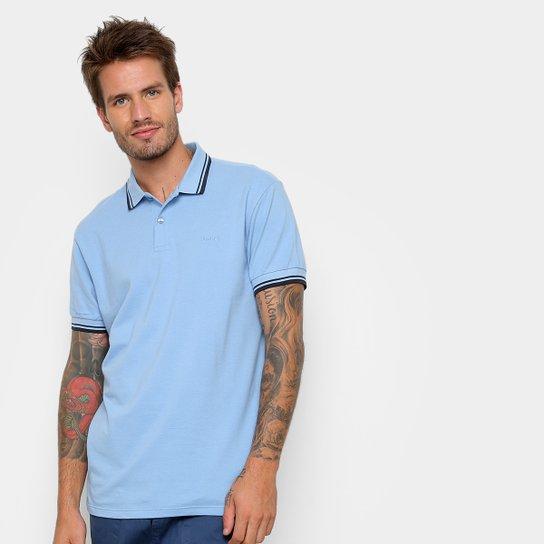 2c4debd9842f4 Camisa Polo Colcci Básica Masculina - Azul Claro - Compre Agora ...