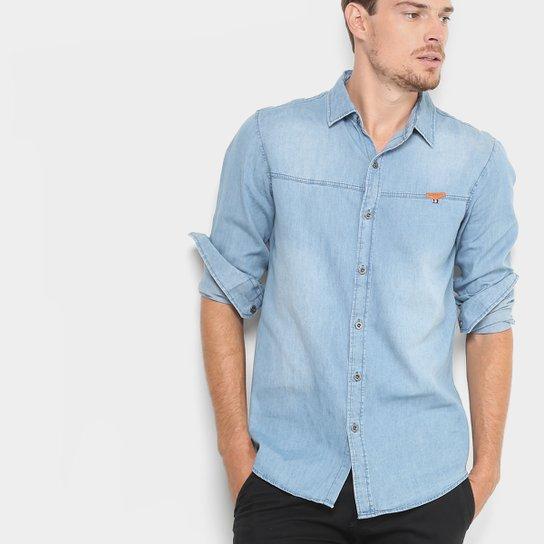 Camisa Jeans Broken Rules Masculina - Compre Agora  3caf5e836c60e