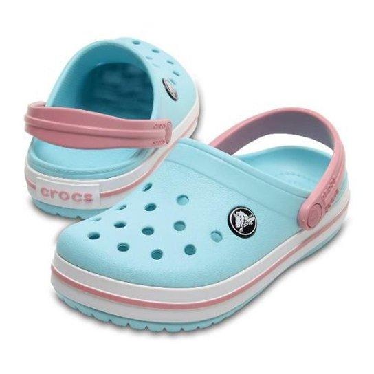 5a5d58b77 Sandália Crocs Crocband Infantil Feminina - Azul Claro | Zattini