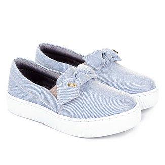 fef295e4a55 Tênis Jeans Infantil Santa Lolla Feminino
