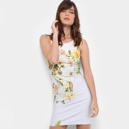 Vestido Farm Tubinho Curto Estampado Floral - Compre Agora   Zattini 05b450f883