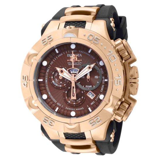 3f584dc7fa1 Relógio Invicta Subaqua Analógico 012884 Masculino - Salmão - Compre ...