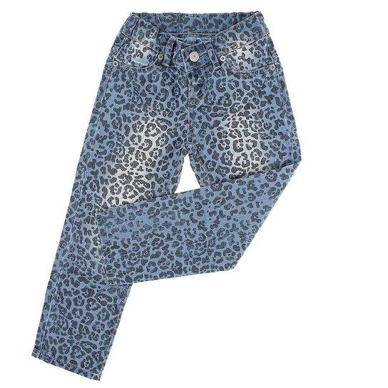 312fcaa38 Calça Jeans Infantil Girls Rodeo West Tassa Skinny Feminina - Azul Claro