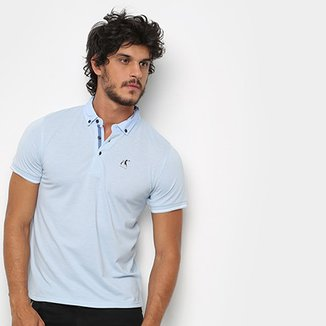 6592e74c0 Camisa Polo Hereford Detalhe Estampado Masculina