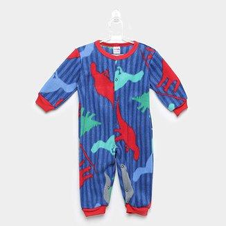 c878320eb Macacão Bebê Candy Kids Soft Botões Dino