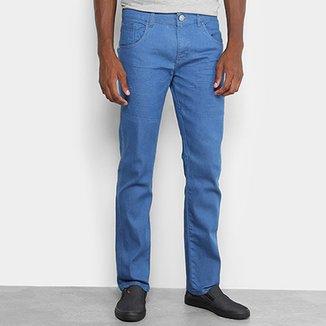 4eb506a73 Calça Jeans Slim Preston Lavagem Clássica Masculina