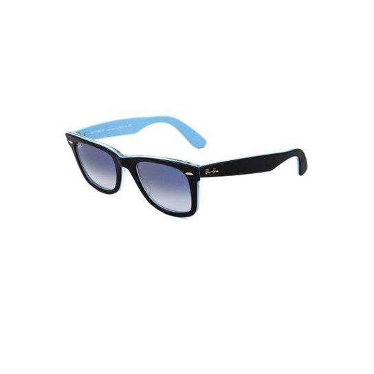 04b0ed170 Óculos de Sol Ray Ban Wayfarer - Azul Claro   Zattini