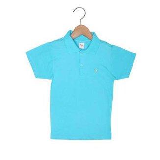 ecbf0c096e Camisa Polo Infantil Elian Básica Masculino