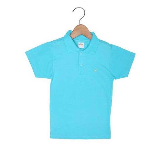 25cba3e170af0 Camisa Polo Infantil Elian Básica Masculino - Azul Claro - Compre ...