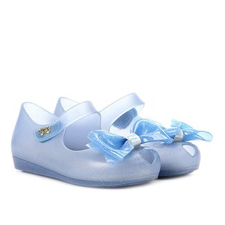Sapatilha Infantil World Colors Peep Toe Confeti Kids Feminina