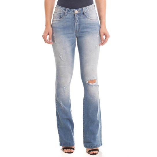 4314a3ce6 Calça Jeans Osmoze Mid Rise Flare Low Feminina - Compre Agora | Zattini