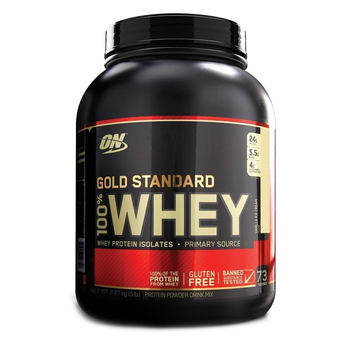e7d260b13 100% Whey Gold Standard 5 Lbs - Optimum Nutrition