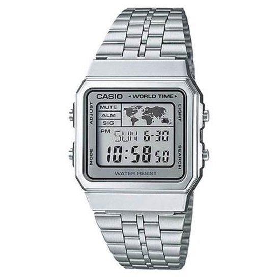 f74a8bc34e4 Relógio Casio - A500Wa-7Df - Prata - Compre Agora