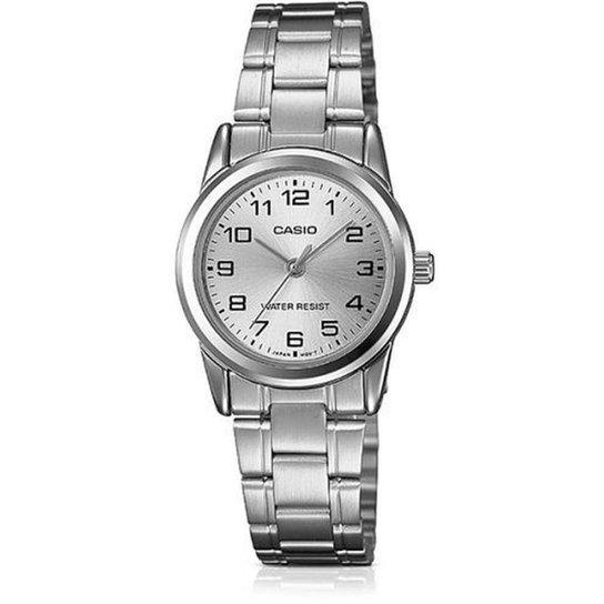7c47c26e98d Relógio Feminino Casio Collection - Prata - Compre Agora