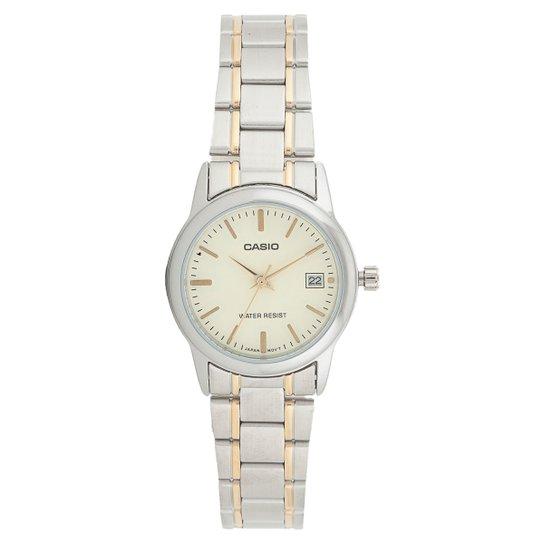 cad17029607 Relógio Casio Feminino - Prata - Compre Agora